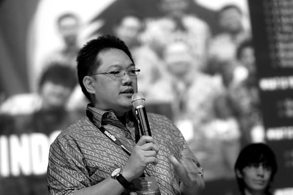 Tampil mewakili Mozilla Indonesia